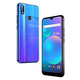 "Unlocked 4G LTE Android - Gravity 6P - 32GB + 4GB RAM - 6.1"" HD IPS Display - 3 AI Cameras - Extensive Battery Life 