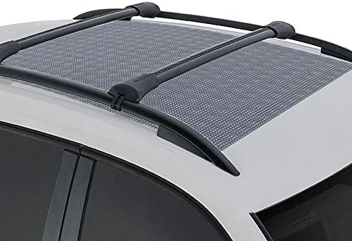 BDK Anti-Slip Rooftop Cargo Mat Protective Liner for Roof Cargo Bags – Rubber Grip Non-Adhesive Scratch-Proof Cushioned Layer (RM-001)