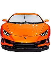 kinder Fluff Car Windshield sunshade-210T for Ultimate uv/Sun Protection for car (X-Large)