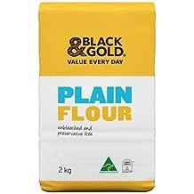 Black & Gold Plain Flour 2kg x 6