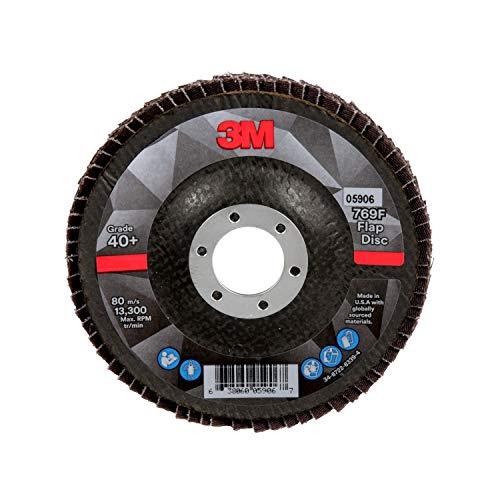 3M Flap Disc 769F, 05906, T29, 4 1/2 in x 7/8
