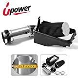 Upower 4' Red Cold Air Intake Kit for Ford F-250 F-350 Super Duty Increase Horsepower (RED)