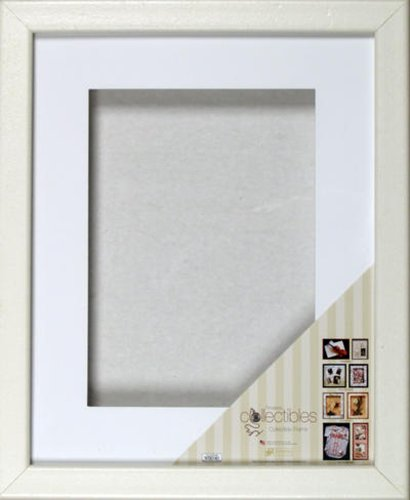 Timeless Frames Collectible Shadowbox Frame, Fits 16 by 20-Inch, White