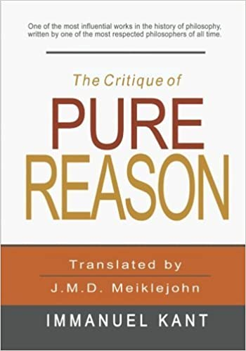 Book The Critique of Pure Reason by Immanuel Kant (2011-10-01)