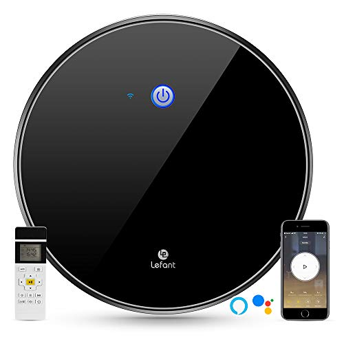 Lefant M520 Robot Vacuum Cleaner with FreeMove, 1800Pa Strong Suction, WiFi Control, Works with Alexa and Google, Smart Mapping, Quiet, Self-charging, Robotic Vacuums for Pet Hair, Carpets, Hard Floor