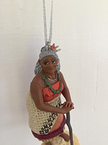 Disney Moana Gramma Tala Grandmother Holiday Christmas Tree Ornament PVC Figure 3.5'' Figurine by HOLIDAY ORNAMENTS (Image #3)