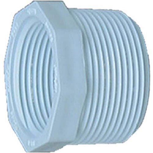 Genova Products 34355 1- PVC Sch. 40 Threaded Reducing Bushings, 1/2
