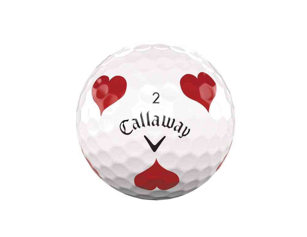 Callaway Golf Chrome Soft Truvis Golf Balls (One Dozen), Suits (Limited Edition) by Callaway (Image #4)