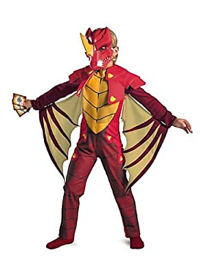 Dragonoid Deluxe Costume Child M7-8 from Disguise