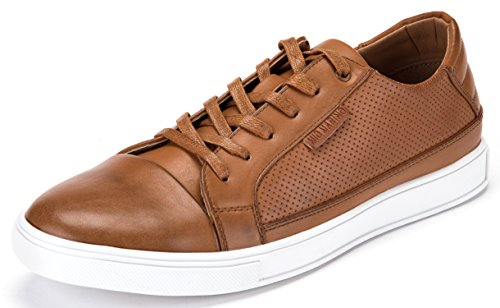 Mio Marino Mens Performance Fashion Sneakers - Dress and Casual - Peppy Tan - Size US 10.5 | UK 10 | EU 43-44