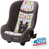 Safe Cosco Convertible Car Seat Scenera NEXT for At Least 2 Years Babies, Kids, Toddlers with Side Impact Protection, 5-point Front Harness, 5 Heights and 3 Buckle Location for BEST FIT, Forward-facing 22-40 Lbs (29 to 43), COMPACT LIGHTWEIGHT TSA Design for Airport Security, Fits 3 Across in the Back Seat of Any Vehicle and Airplane, Machine Washable and Dryer Safe Seat Pad, Dishwasher Safe Removable Cup Holder, Meets and Exceed NHTSA Standards, Made in USA (Fiona) by Cosco