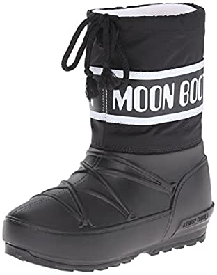 Amazon.com | Moon Boot Girls POD JR. -K, Black, 36 EU (3.5