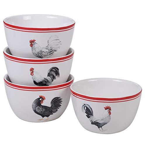 Certified International 26783SET4 Homestead Rooster 5.5