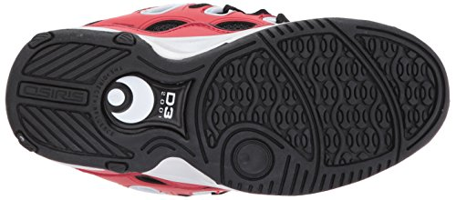 Osiris D3 2001 Red/White. Red/White