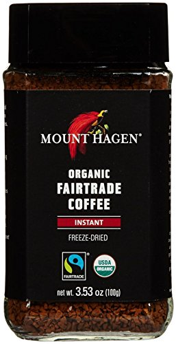 Freeze Dried Instant Coffee (Mount Hagen Organic Freeze Dried Instant Coffee, 3.53 oz)