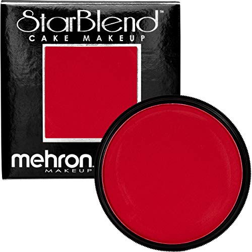 Mehron Makeup StarBlend Cake (2 oz) (Red)