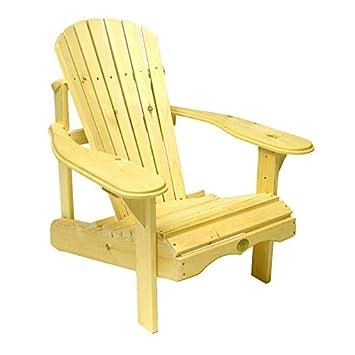 Bc201p Bear Chair – Pine Adirondack Chair Kit – Unassembled
