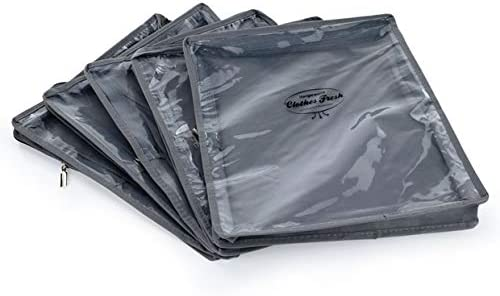 Hangerworld 3 Bolsas de Almacenaje 35cm x 30cm Transpirable para Su/éteres Color Marfil