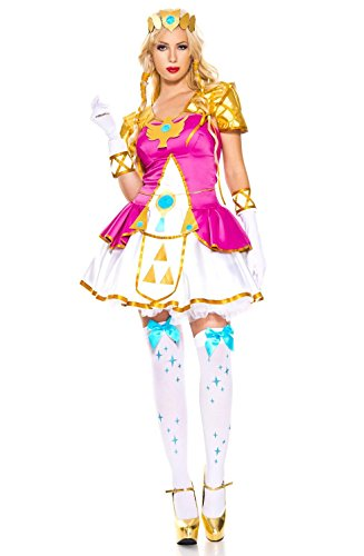 Music Legs Elf Princess Cosplay (X-Large, Hot