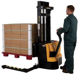 Vestil-S3-118-AA-Stacker-Power-Drive-AA-118-BlackYellow