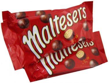 Mars Maltesers, 1.3 oz bag, 25 count -