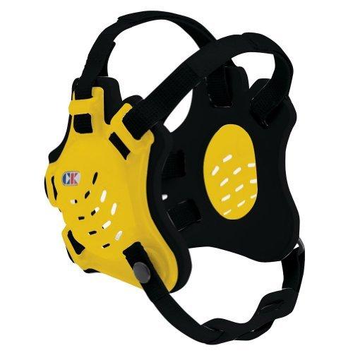 Cliff Keen F5 Tornado 4-Strap Stock Wrestling Head Gear - Light Gold/Black/Black