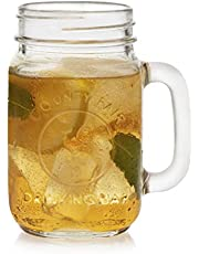 Libbey County Fair Glass Drinking Jars, Set of 12