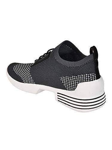 Grigio On Tessuto Kendall nero Sneakers Donna Brandy531grmfb Kylie Slip n0qqTwBf