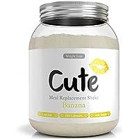Milk-Shake/Banane pour maigrir tout en restant en forme - Substitut de repas diététique sous forme de boisson en poudre hyperprotéinée basses calories - Guide pour perdre du poids offert