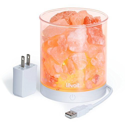 Levoit Cora Himalayan Salt Lamp Natural Crystal...