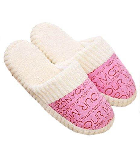 confortable Bear en coton Accueil Fami Lovely sol Chaussures Chaussons rembourré souple aw5w8q6