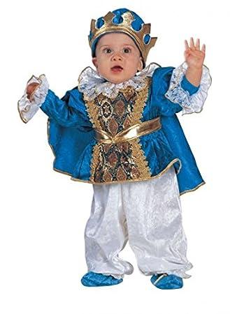 Premium Prinzen Kostum Fur Babys Mit Umhang Krone Und Fusslinge