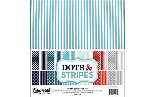 Dots & Stripes Echo Park Winter Collection Kit ()