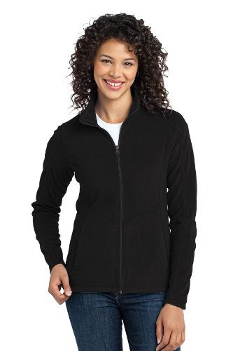 Port Authority Women's Microfleece Jacket L Black