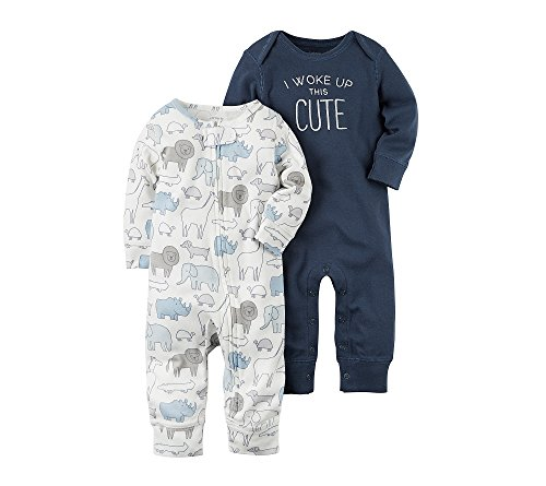 Baby Coverall (Carter's Baby Boys' 2-Pack Coveralls 9 Months)
