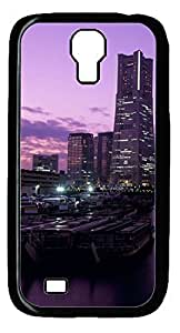 Beautiful Night DIY Hard Shell Black Designed For Samsung Galaxy S4 I9500 Case