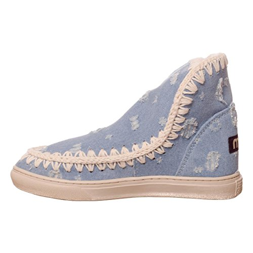 Denim Sneaker Stiefel Summer Denim Damen Mou Eskimo 0wRtZ