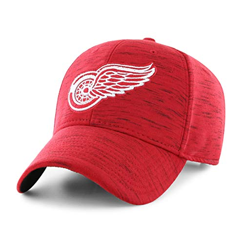 (NHL Detroit Red Wings NHL Men's Space Shot OTS All-Star Adjustable Hat, Team Color, One Size)