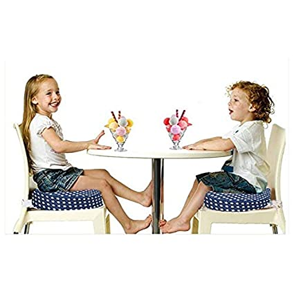 SODIAL Kinder Esszimmer Stuhl Hebe Kissen Verstellbares Hoch Stuhl Booster Seat Pads Kissen f/ür Kleinkinder Kinder Baby Infant