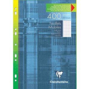 10 x Clairefontaine archivador con fundas A4 200 hojas cuadrícula con margen: Amazon.es: Electrónica