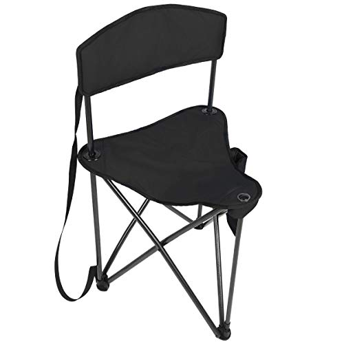PORTAL Quick with Backrest Fishing Camping with Carry Strap (Disc Golf Seat)