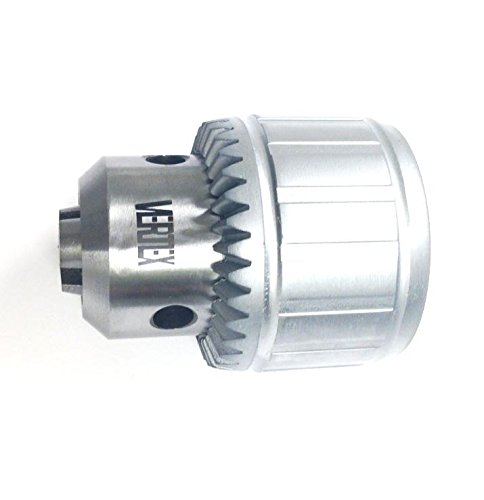 HHIP 3701-0100 Pro-Series Precision Drill Chuck with Key, Jt1 Taper Mount, 1/64'' - 1/4'' Capacity