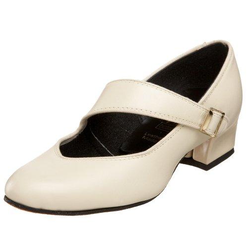 Tic-tac-tenen Womens Swing Dance Shoe Kaki