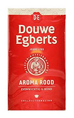 Douwe Egberts Aroma Rood Ground Coffee, 17.6-Ounce by Douwe Egberts