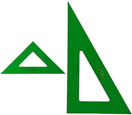 Faber-Castell - Pack escuadra para dibujo técnico, 28 cm + ...