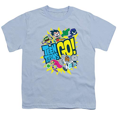 Teen Titans Go! Squad Youth T Shirt (Small) ()