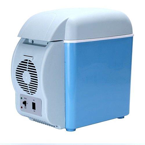 12v car small refrigerator mini fridge cooler warmer portable electric fridge travel. Black Bedroom Furniture Sets. Home Design Ideas