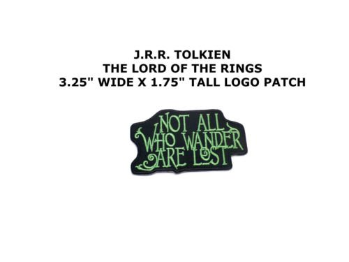 NOT ALL THOSE WHO WANDER ARE LOST - IRON or SEW ON PATCH by I.E.Y.online-store