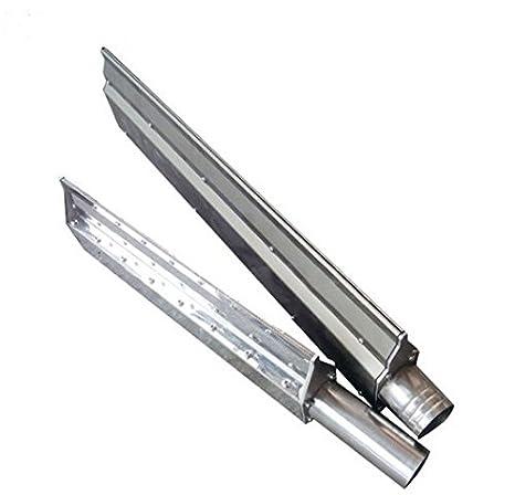 GOWE 1,4 m Longitud acero inoxidable Anillo soplador aire cuchillo para side canal Compresor De Aire: Amazon.es: Bricolaje y herramientas