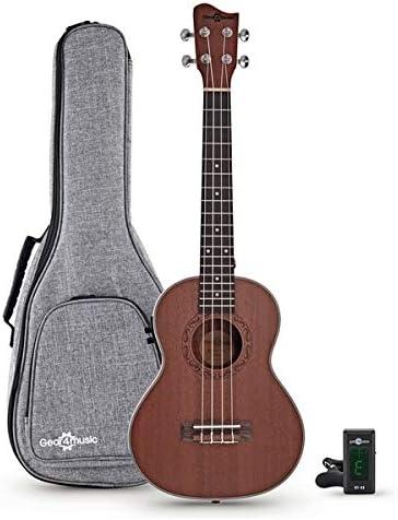 Sapele Tenor Electro-Ukulele Pack by Gear4music: Amazon.es: Instrumentos musicales